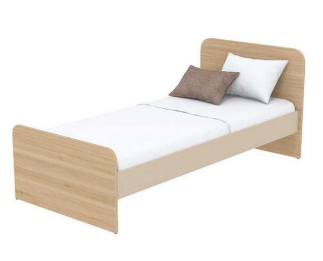 Кровать под матрас 800х1800 Кв-11-8 Акварели коричневые