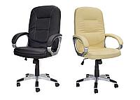 Офисное кресло компьютерное CALVIANO ARTIX хромированная крестовина, фото 1