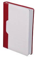 Ежедневник датированный А5 Buromax 288 стр. красный JARDIN BM.2031-05