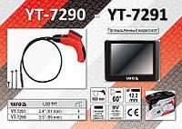 """Промышленный видеоскоп 2.4"""", камера 12.2 мм., кабель 0.9 м., YATO YT-7291"""