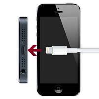 Замена разъёма зарядки с микрофоном и разъёмом для наушников iPhone 5/5S/5C в Донецке