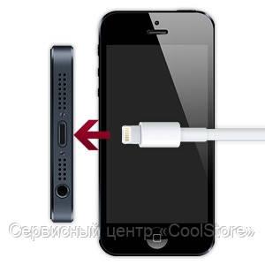 Замена разъёма зарядки с микрофоном и разъёмом для наушников iPhone 5 в Донецке