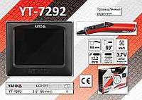 """Промышленный видеоскоп 3.5"""" с Wi-Fi каналом, камера 12.2 мм., кабель 0.9 м., YATO YT-7292"""