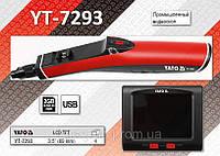 """Промышленный видеоскоп 3.5"""" с Wi-Fi, USB, карточка 2 ГБ, камера 12.2 мм., кабель 0.9 м., YATO YT-7293, фото 1"""