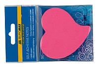 Блок бумаги для заметок липкий слой Buromax 70x70мм 50л ассорти цветов BM.2362-99