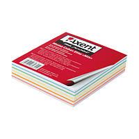 Блок бумаги для заметок Axent проклеенный 90x90x20мм ассорти цветов 8015-A