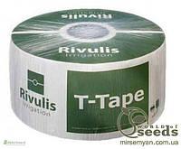 "Капельная лента ""T-Tape 505-20-500"", 5 mil через 20 (3658м/бух)"