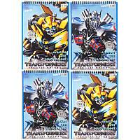 Альбом для рисования Kite A4 30л 120г/м2 Transformers спираль TF17-243
