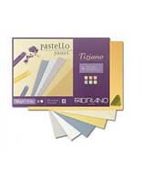 Склейка для пастели Tiziano A4 (21х29,7см), 160г/м2, 30л, теплые цвета, Fabriano