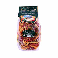Макароны твердых сортов цветные Pasta Torchietti «Tarall'Oro», 500 гр., фото 1