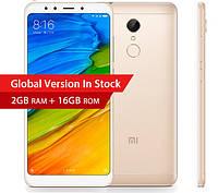 Смартфон Xiaomi Redmi 5 2/16Gb Gold+чехол Global Version Официальная версия
