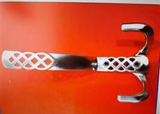 Мебельный крючок 3051 большой сатин