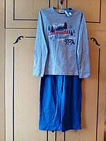 Пижама  с длинным рукавом для мальчика  р.146 -152  PEPPERTS Германия