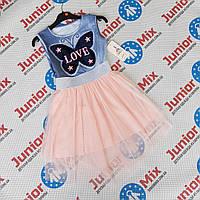 Детские летние модные сарафаны для девочек оптом