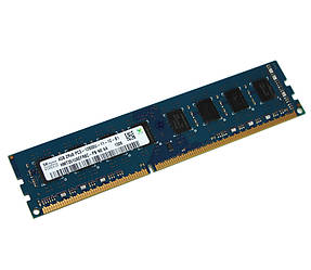 Память 4Gb DDR3, 1600 MHz (PC3-12800), Hynix Original, 11-11-11-28, 1.5V (HMT351