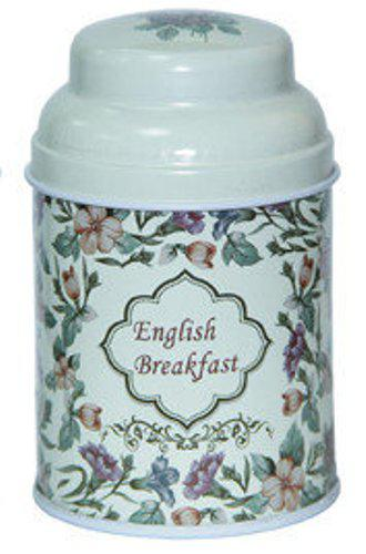 Металлическая баночка для чая и кофе Старый стиль Английский завтрак, 75г ( банка для сыпучих )