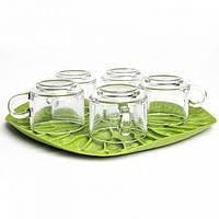 Сушка для посуды - поднос Bai Bua Tray Qualy (зеленая)