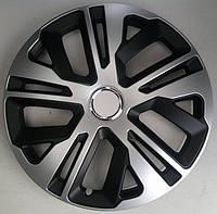 Колпаки Jestic Raven Ring Mix Black Silver R15 (к-кт 4 шт.)