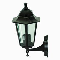 Уличный настенный светильник Кантри PL6101 Е27 черный
