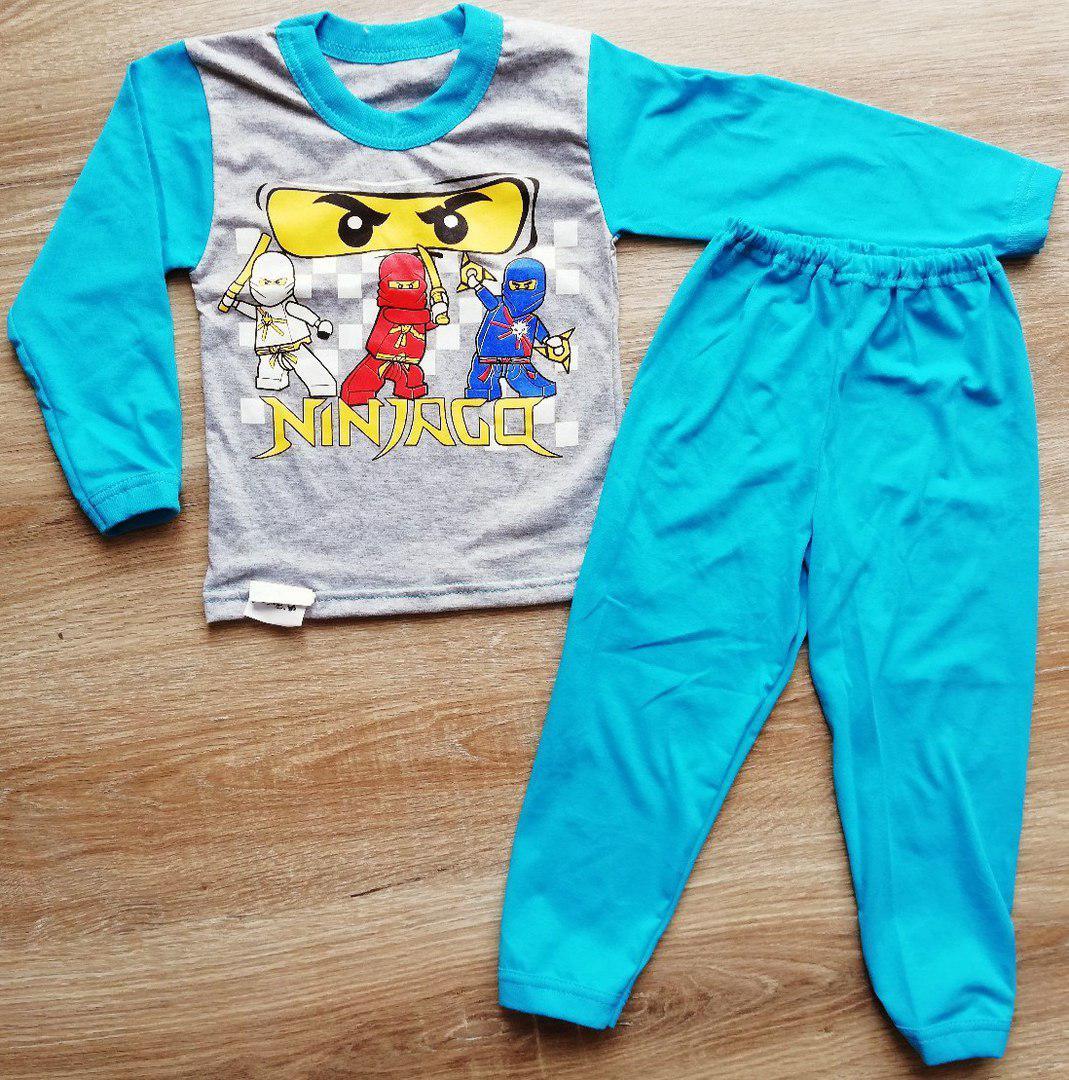 Детская пижама Ниндзяго из кулира