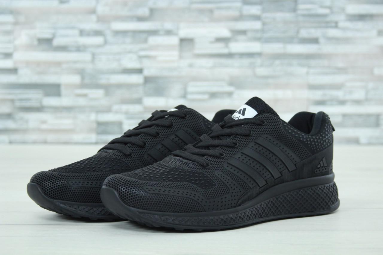 Мужские кроссовки AdAdidas Marathon черные топ реплика