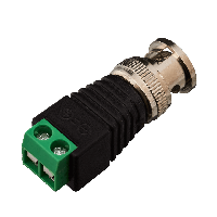 Коннектор для передачи видеосигнала Green Vision GV BNC/M (male)