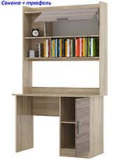 Стол для ученика с Надстройкой Школьник-5, фото 3