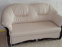 Перетяжка диванов  в кожу Днепропетровск, фото 1