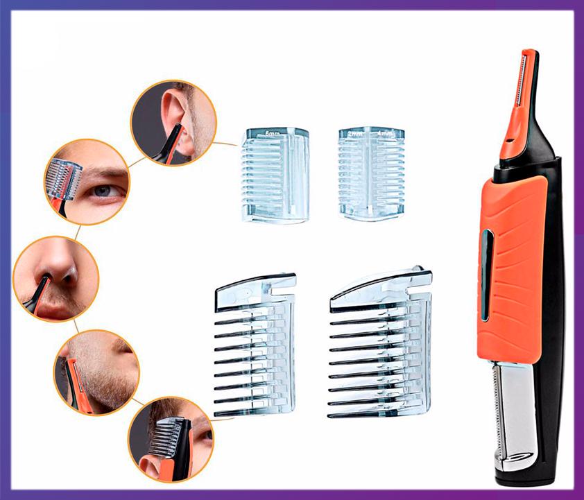 Универсальный триммер для для носа, ушей и корректировки стрижки MicroTouch Switch Blade