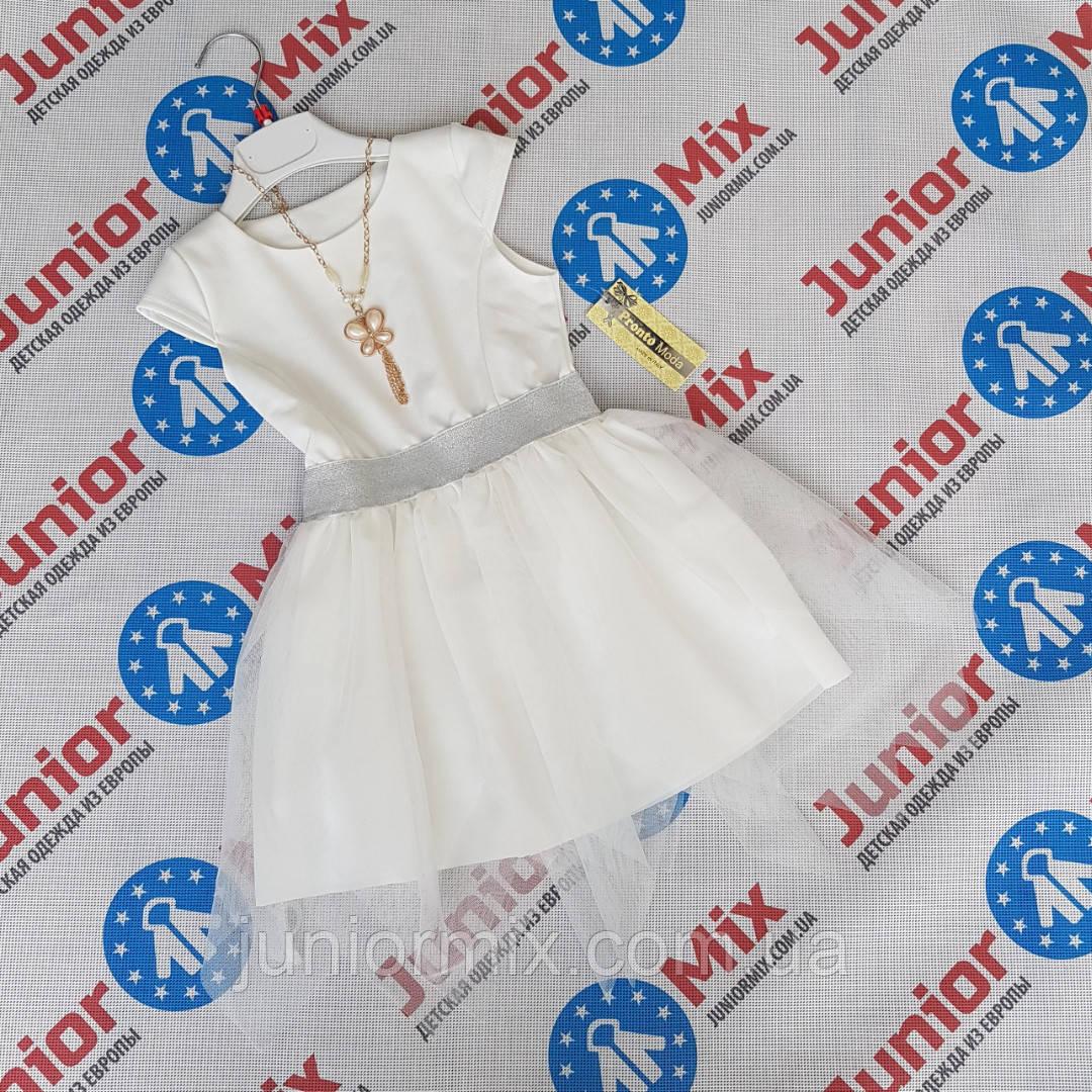 Модные детские платья для девочек оптом Pronto moda ИТАЛИЯ