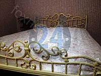 Спальня с кованой мебелью