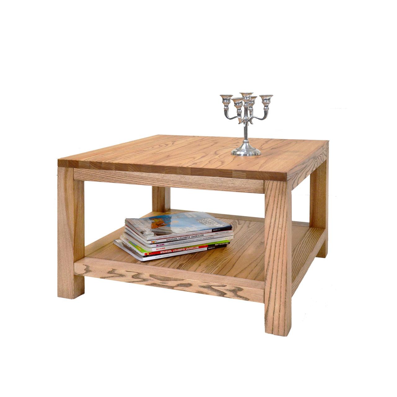 """Журнальный столик """"Билл"""" из массива дерева"""