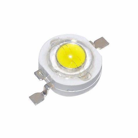 LED светодиод 1W 100-120LM  WHITE, фото 2