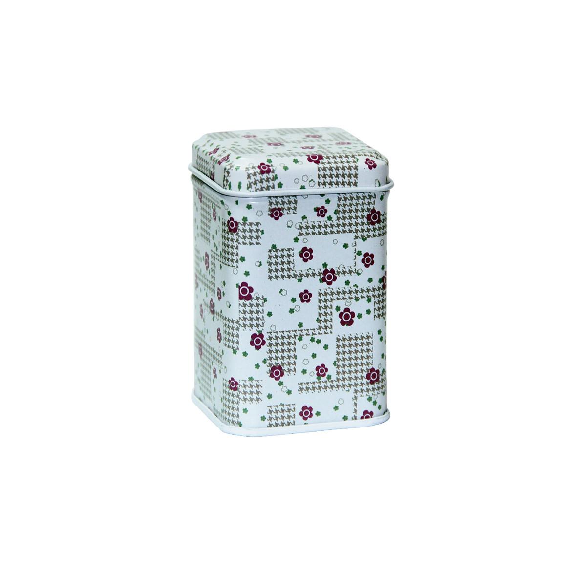 Маленькая коробка для чая и кофе Фентези Цветочный лабиринт, 25г ( коробочка для сыпучих )