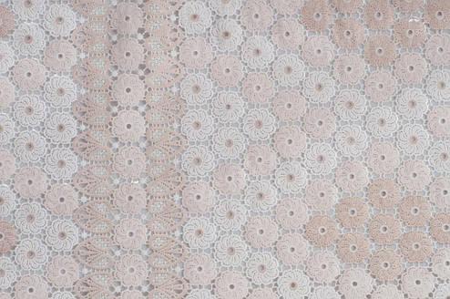 Клеенчатая скатерть на кухонный стол  Ажур , фото 2