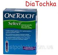 Тест-Полоски One Touch Select(Ван Тач Селект) - 50шт