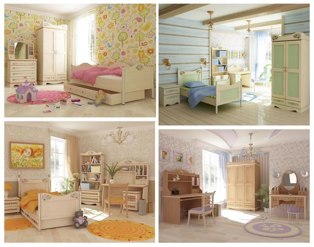 Детская комната Angel (ассортимент, варианты интерьера)