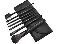 MAKE-UP FOR YOU Набор кисточек  для макияжа из 7 шт  с чехлом