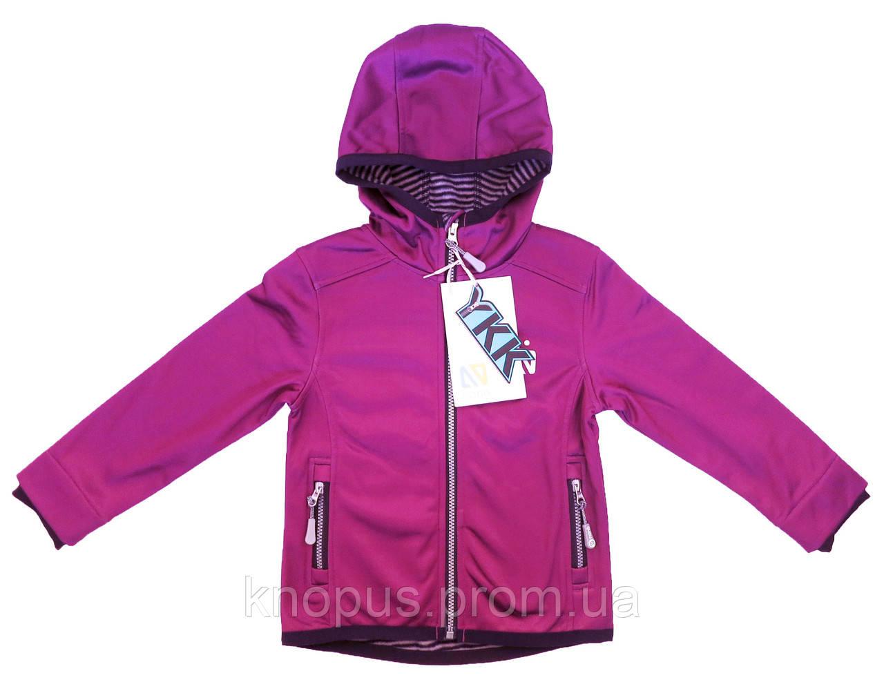 Демисезонная куртка SOFTSHELL, 1400 M S18, Purple