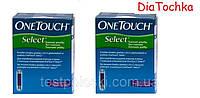 Тест-Полоски One Touch Select(Ван Тач Селект)100шт