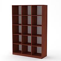 Шкаф книжный КШ-3 яблоня Компанит (130х45х195 см)
