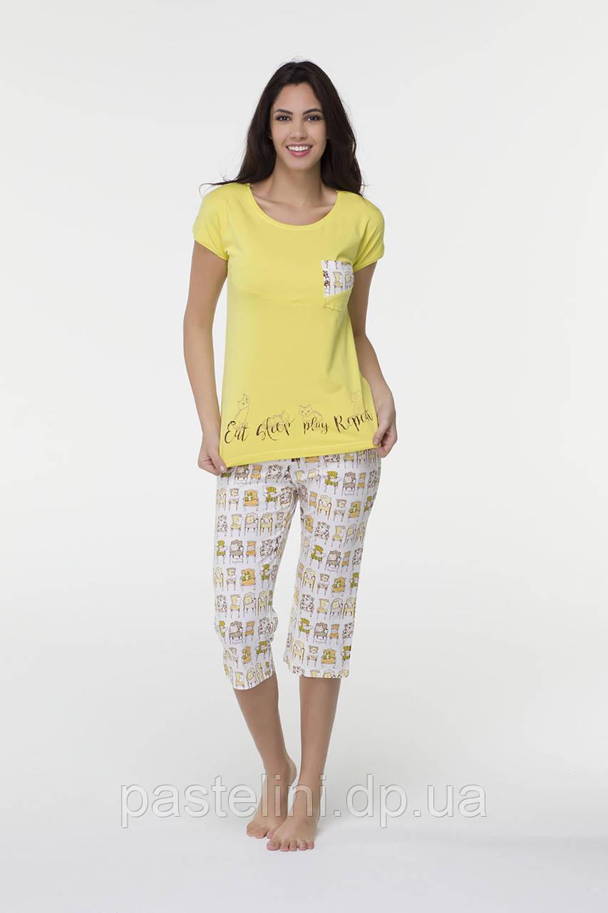 Двойка: футболка+капри 16511