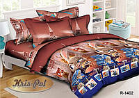 """Комплект постельного белья для детей """"Zootropolis""""."""