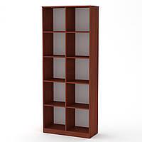 Шкаф книжный КШ-2 яблоня Компанит (84х36х206 см)