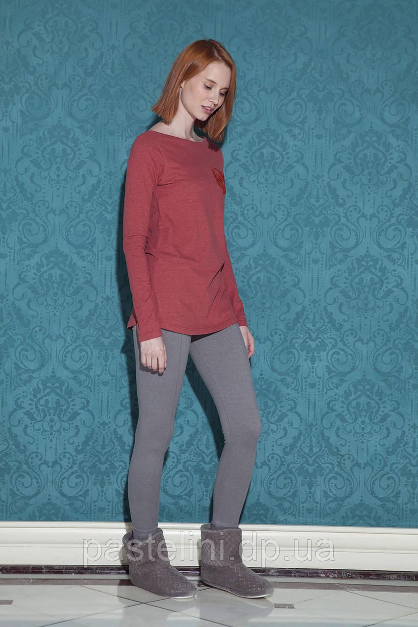 Двойка: брюки+кофта 17047 (kirmizi)
