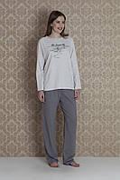 Двойка: брюки+кофта 17321 (bej)