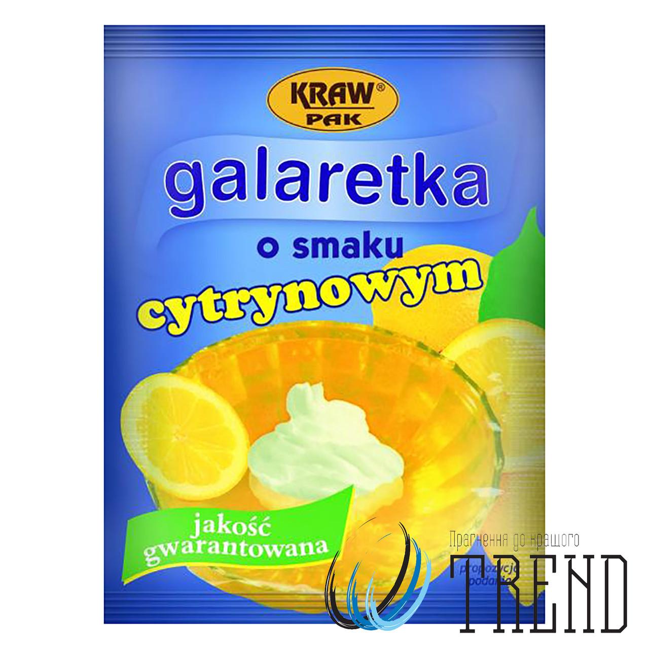 Желе Galaretka лимон 90 гр.