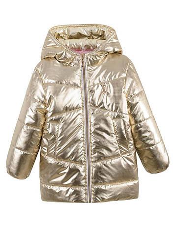 Детская демисезонная куртка на девочку,в расцветках, р.98-116, фото 2