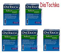 """Тест-полоски """"Ван Тач Селект"""" 250шт/One Touch Select 250"""