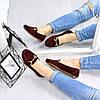 Туфли балетки женские Klass бордо 4522, балетки женские